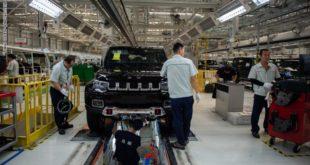 الصين تتوقع تباطؤ مبيعات سوق السيارات خلال 2019.