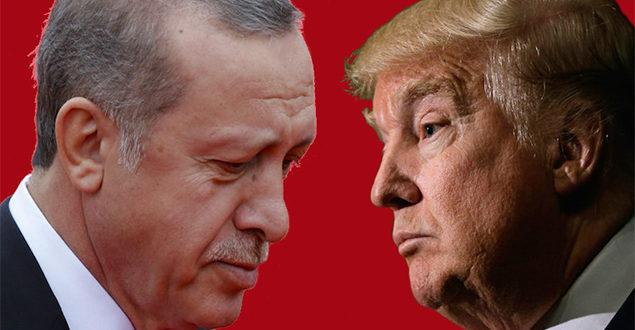 ترامب يهدد بضرب اقتصاد تركيا إذا هاجمت الأكراد.